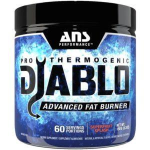 ANS Performance Diablo Fat Burner | 60 Servings | Cherry Limeade | Fat Burners | Synergy Driven Thermogenic