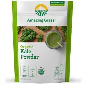 Amazing Grass Mushroom Powder | 30 Servings | Kale | Vegan Superfoods Supplements | Only 15 Calories Per Serving