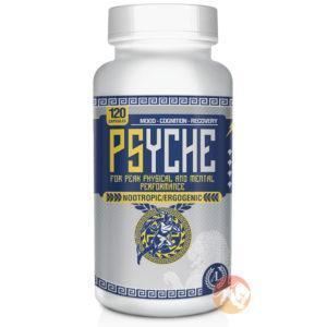 Antaeus labs Psyche | 120 Capsules | Nootropic Supplements & Boost Mental Performance | Improves Concentration & Focus