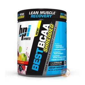BPI Sports Best BCAA Shredded BCAA Supplement | 25 Servings | Watermelon Ice | Non-Stimulant Fat Burners | Designed To Optimise Recovery from Exercise