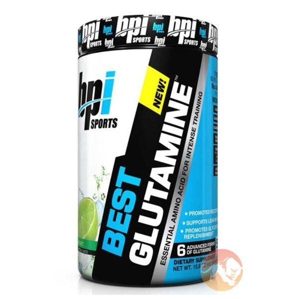 BPI Sports Best Glutamine | 50 Servings | Berry Citrus | Recovery Aid | Glutamine Supplements | Improves Recovery