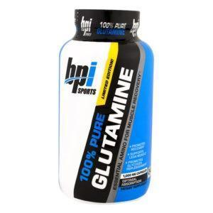 BPI Sports Bpi 100% Pure Glutamine | 240 Caps | Pure Glutamine Capsules | Glutamine Supplements