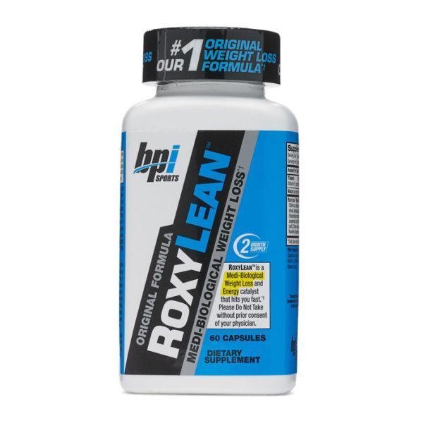 BPI Sports Bpi Roxylean Fat Burner | 60 Caps | Enhanced Fat Loss | Fat Burners | Increases Thermogenesis & Metabolism