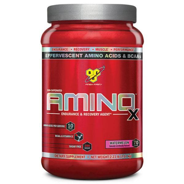 BSN Amino X Intra-Workout | 70 Servings | Watermelon | Recovery Aid | BCAA & Essential Amino Acids | Enhances Muscle Recovery
