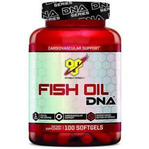 BSN Fish Oil Dna | 100 Sofgels | High Quality Enteric Fish Oil | Fish Oils & Essential Fat Supplements