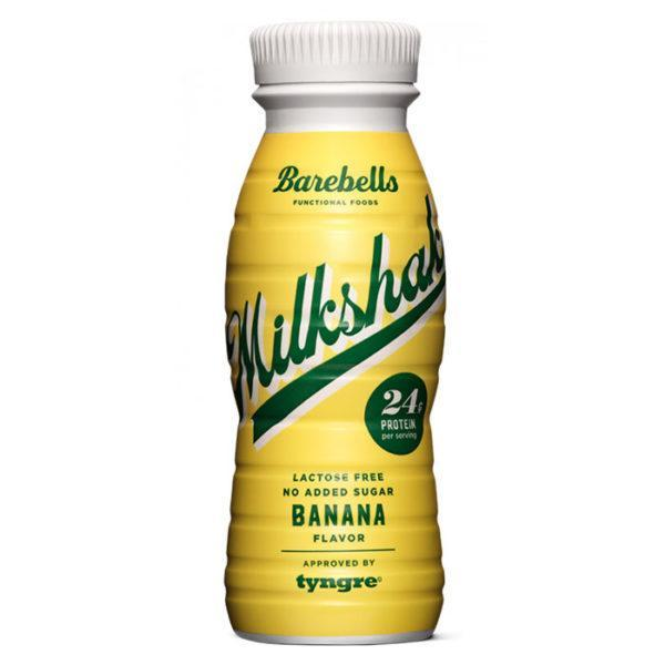 Barebells Protein Milkshake | 8 x 330ml | Banana | Milk & Casein Protein | Low Fat & Carbohydrates