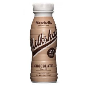 Barebells Protein Milkshake | 8 x 330ml | Chocolate | Milk & Casein Protein | Low Fat & Carbohydrates