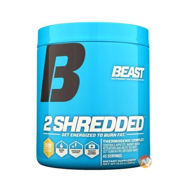 Beast Sports Nutrition Beast 2 Shredded Powder | 45 Servings | Orange & Mango | Fat Burner | Fat Burners | Burns Body Fat