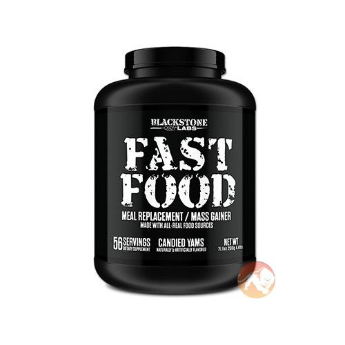 Blackstone Labs Fast Food | 2016g | Candied Yams | Healthy Mrp & Weight Gain | Weight Gainers | Meal Replacement Made With Natural Food Sources