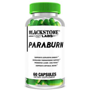 Blackstone Labs Paraburn | 60 Capsules | Stimulant Fat Burner | Fat Burners | Potent Fat Burner Containing Clinically Proven Ingredients