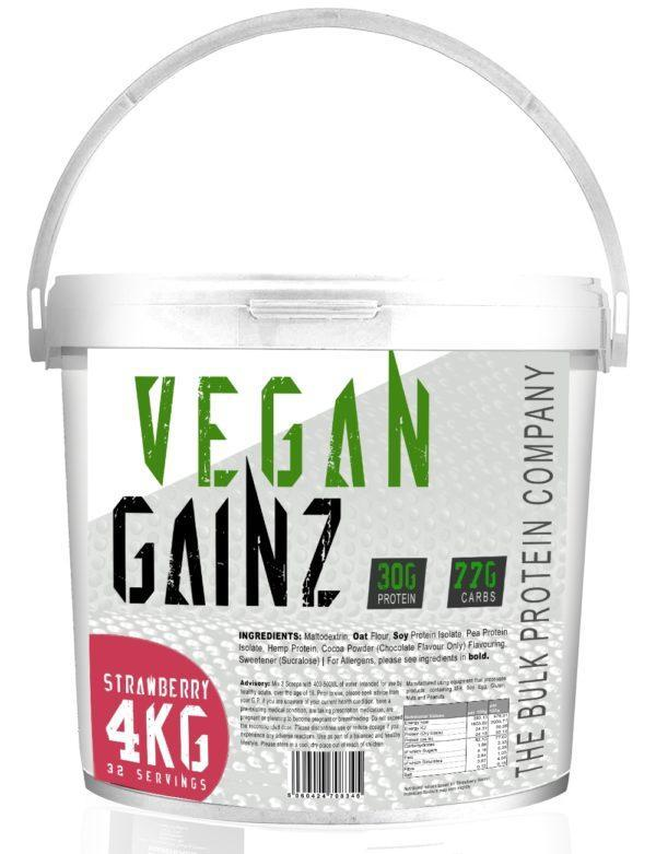 Bulk Protein Company Vegan Gainz