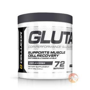 Cellucor Cor-Performance Glutamine | 360g | Unflavoured | Recovery Aid | Glutamine Supplements | Assist In Muscle Cell Recovery