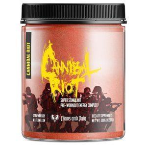Chaos & Pain Chaos & Pain Cannibal Riot | 30 Servings | Gummi Bear | Pre-Workout | Pre-Workout Supplements | Powerful Pre-Workout