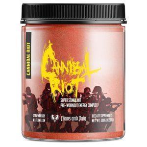 Chaos & Pain Chaos & Pain Cannibal Riot | 30 Servings | Gummi Bear | Pre-Workout | Pre-Workout Supplements | Powerful Pre-Workout