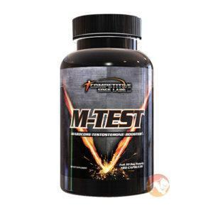 Competitive Edge Labs M-Test 180 | 180 Capsules | T Boosters | Rapid Acting Clinically Dosed T Booster