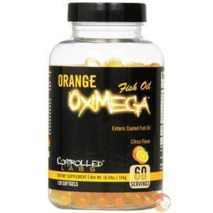 Controlled Labs Orange Oximega | 120 Softgels | Omega 3 | Fish Oils & Essential Fat Supplements | Purified Fish Oil Extract