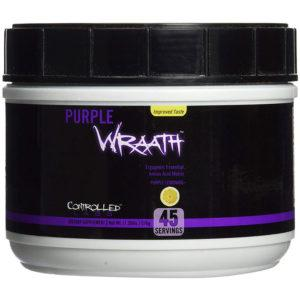 Controlled Labs Purple Wraath | 45 Servings | Cotton Candy | Amino Acids | BCAA & Essential Amino Acids | The Original EAA Formula