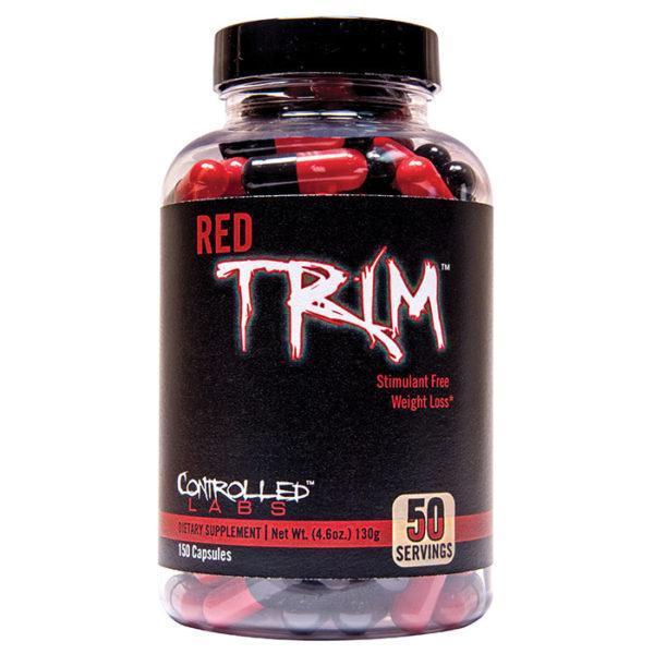 Controlled Labs Red Trim | 150 Caps | Non-Stimulant Fat Burner | Non-Stimulant Fat Burners | Completely Free Of Stimulants