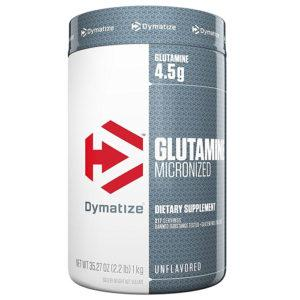 Dymatize Micronised Glutamine | 1000g | Recovery Aid | Amino Acids | Glutamine Supplements | Boosts The Effect Of Natural Growth Hormone Levels