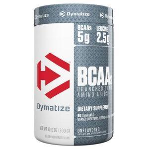 Dymatize Nutrition BCAA | 300g | Unflavoured | BCAA & Essential Amino Acids | Loaded With 5g Of Branch Chain Amino Acids Leucine, Isoleucine & Valine