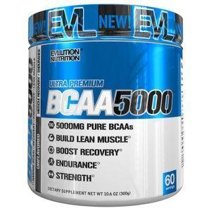 Evlution Nutrition Evlution BCAA5000 Intra Workout | 60 Servings | Unflavoured | Recovery Aid | BCAA & Essential Amino Acids | Enhance Muscle Recovery
