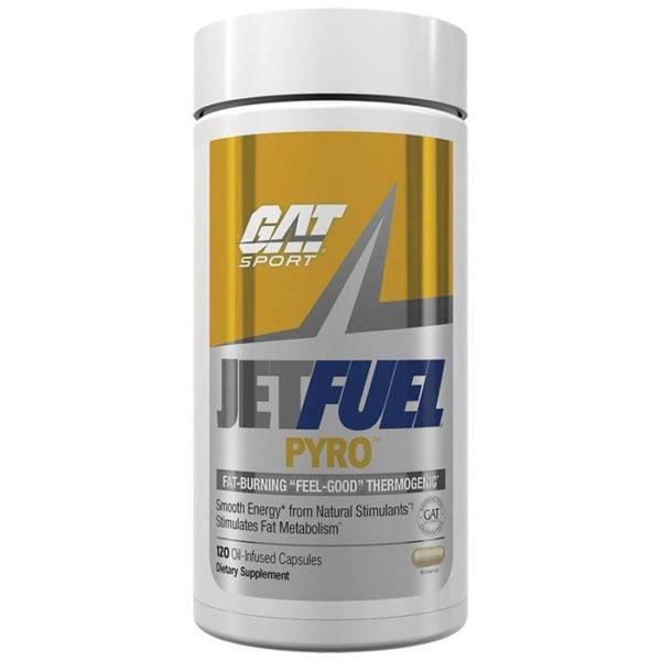 GAT Jetfuel Pyro | 120 Capsules | Fat Burner | Fat Burners | Thermogenics To Boost Bmr