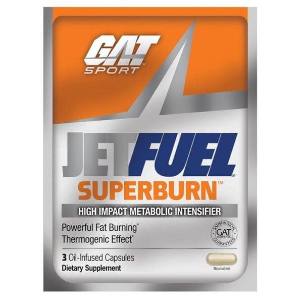 GAT Jetfuel Superburn | 120 Capsules | Thermogenic Aid | Fat Burner | Fat Burners | Highly Thermogenic Fat Burner