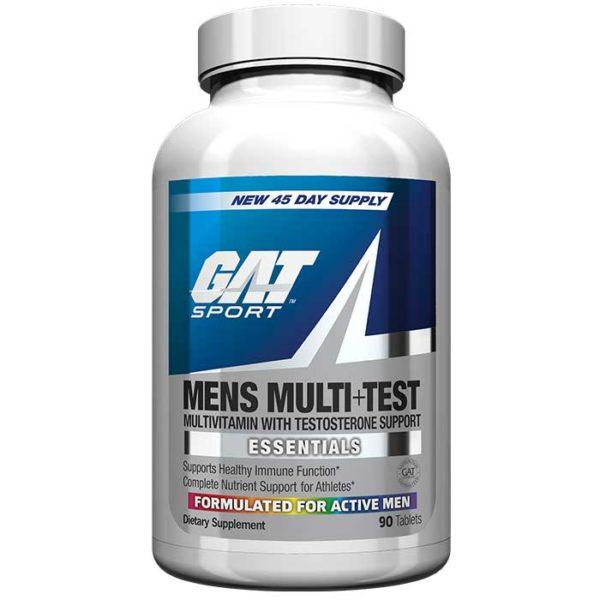 GAT Men's Multi + Test | 60 Capsules | Multivitamin | T Boosters | Specifically Developed Formula Just For Men