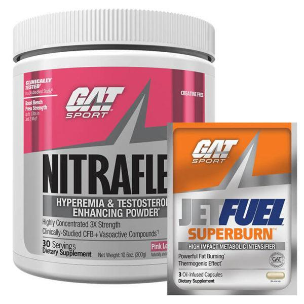 GAT Nitraflex | 30 Servings | Fruit Punch | Test Boosting Pre-Workout | T Boosters | Highly Concentrated Pre Workout