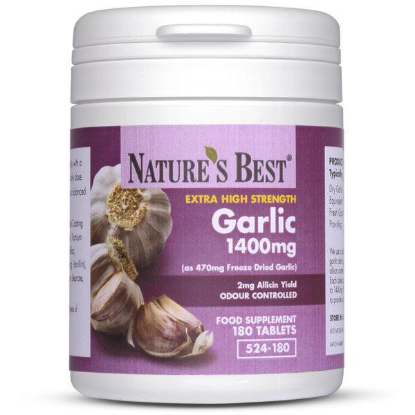 Garlic Tablets 1400Mg 180 Tablets