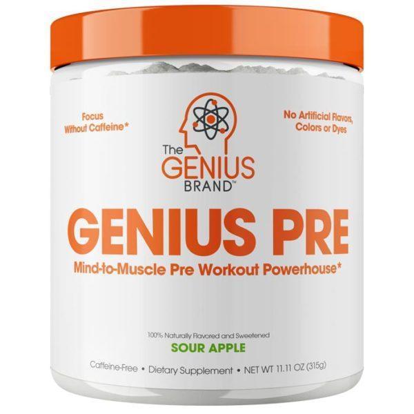Genius Pre 20 Servings Sour Apple
