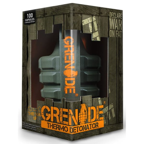 Grenade Thermo Detonator | 100 Capsules | Fat Burners | Uk's Most Popular Hardcore Fat Burner