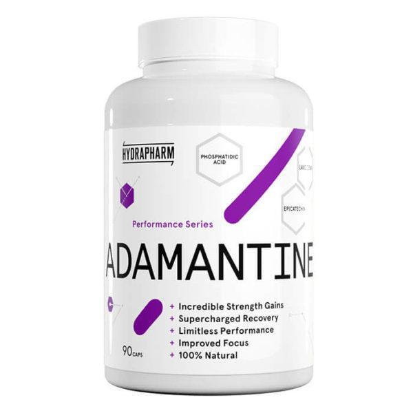 Hydrapharm Adamantine | 90 Capsules | Muscle Builder With Laxogenin | Post-Workout Supplements | New & Improved Formula Including The Natural Muscle