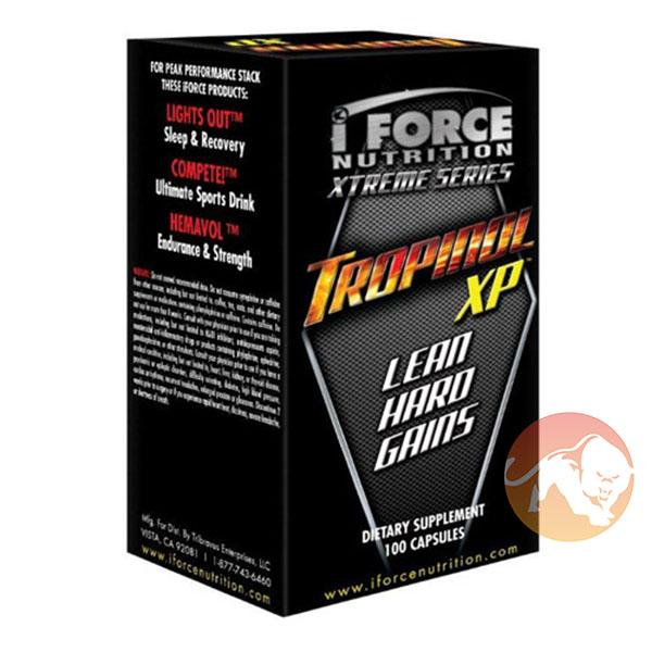 IForce Nutrition Tropinol Xp | 100 Capsules | Premium Test Booster | T Boosters | Strongest Natural Test Booster On The Market