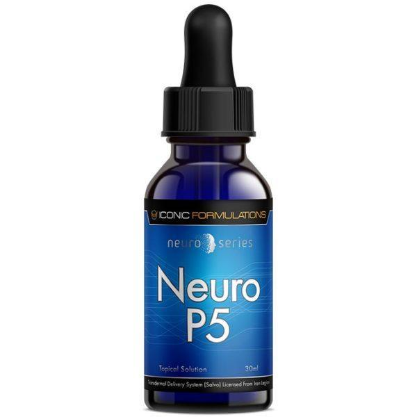 Iconic Formulations Iconic Formlations Neuro P5 | 30ml | Pregnenolone | Nootropic Supplements & Boost Mental Performance | Easy To Use Topical