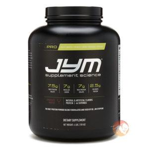 JYM Supplement Science Pro Jym: Protein Powder To Build Greater Muscle Mass   1814g   Tahitian Vanilla Bean   Egg Protein   Blend Of Micellar Casein