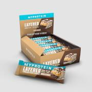 Layered Protein Bar - 12 x 60g - Cookies and Cream
