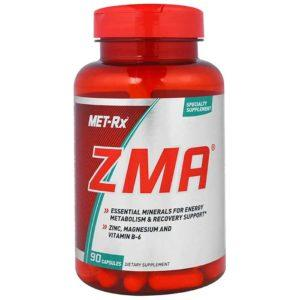 MET-Rx Zma | 90 Capsules | Sleep & Recovery Formula | T Boosters | Zinc Contributes To The Maintenance Of Normal T Levels In The Blood