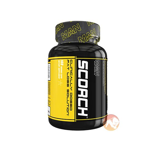Man Sports Scorch Fat Burner | 168 Capsules | Unflavoured | Fat Burners | X 3 Tea Power With Green Tea, Black Tea & White Tea Extracts
