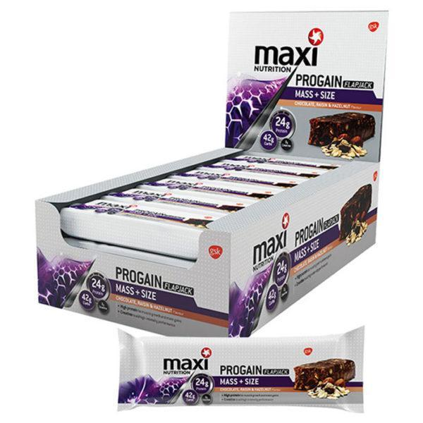 MaxiNutrition Progain Flapjacks 12 x 90g Bar(s)