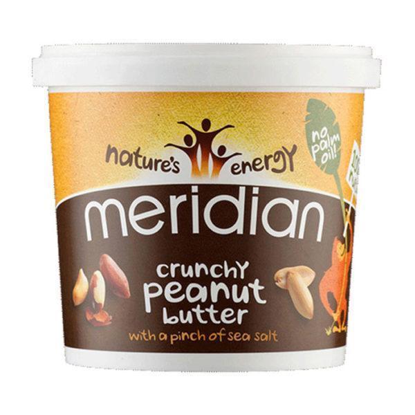 Meridian Crunchy Peanut Butter 100% 1kg