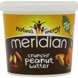 Meridian Crunchy Peanut Butter 100%