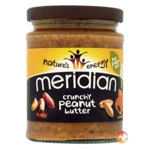 Meridian Crunchy Peanut Butter | 1kg | No Added Sugar Or Salt | Nut Butters & Spreads