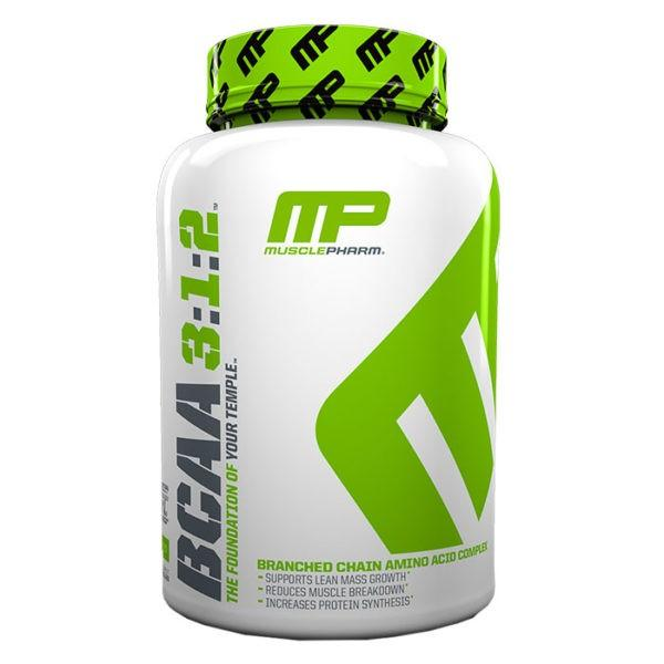 MusclePharm BCAA 3:1:2 | 240 Capsules | Unflavoured | BCAA Drink | BCAA & Essential Amino Acids | Unique BCAA Formula Never Seen Before