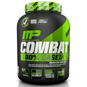 MusclePharm Combat Casein Powder | 1800g | Chocolate Milk | Rebuild & Repair Muscles | Protein Powder | Slow Digesting Protein