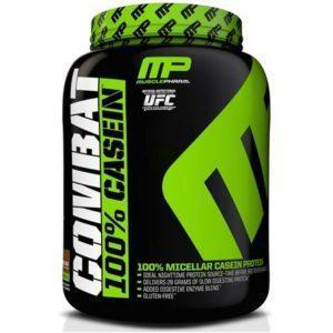 MusclePharm Combat Casein Powder | 1800g | Cookies & Cream | Rebuild & Repair Muscles | Protein Powder | Slow Digesting Protein