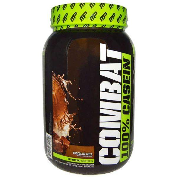 MusclePharm Combat Casein Powder | 908g | Chocolate | Rebuild & Repair Muscles | Protein Powder | Slow Digesting Protein