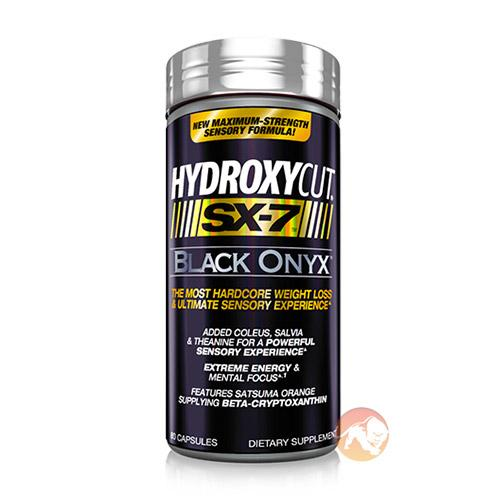 Muscletech Hydroxycut Sx-7 Black Onyx | 80 Capsules | Fat Burner | Fat Burners | Contains Unique Fat Burning Ingredients