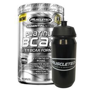 Muscletech Platinum BCAA 8:1:1 | 200 Capsules | BCAA's With High Leucine Content | BCAA & Essential Amino Acids | 8:1:1 Ratio Provides A Huge Dose Of