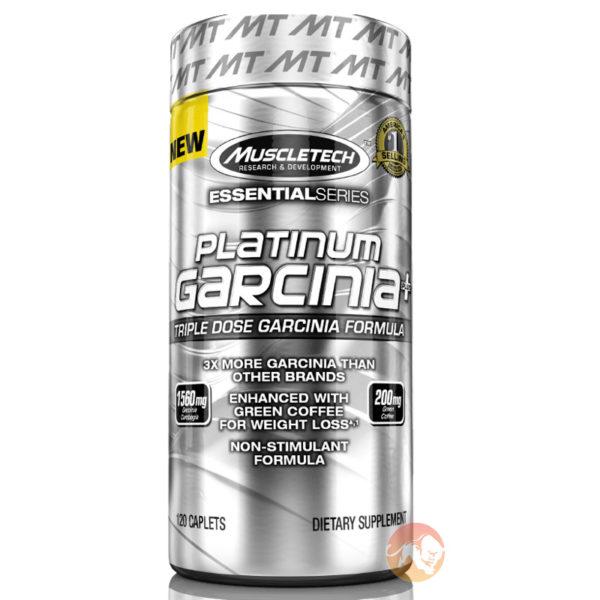 Muscletech Platinum Garcinia Plus | 120 Capsules | Non-Stimulant Fat Burners | Uses Two Key Fat Burning Ingredients - Garcinia Cambogia & Green